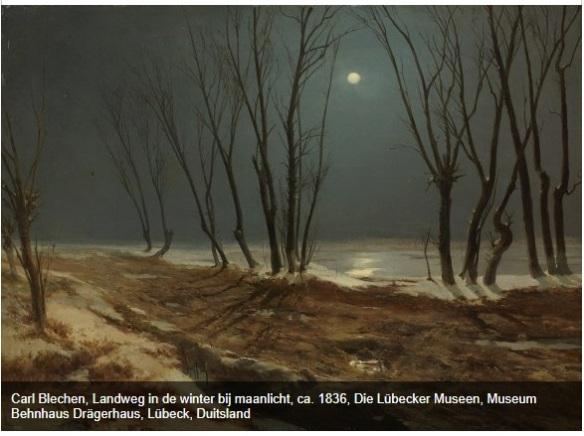 blechen maanlicht